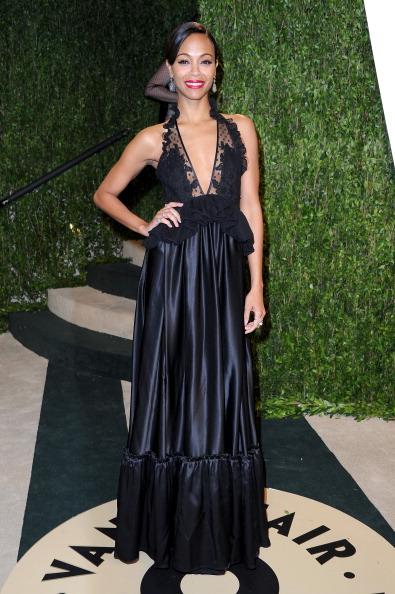 Zoe Saldana de Givenchy