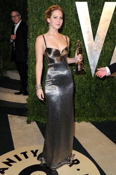 Jennifer Lawrence de Calvin Klein